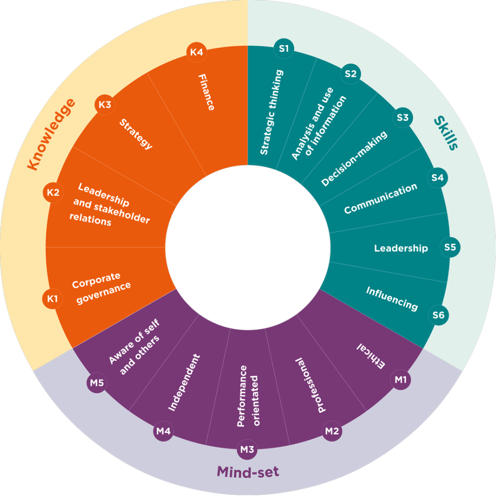 DIRECTOR COMPETENCIES TO CONSIDER WHEN COMING OUT OF A CRISIS 3
